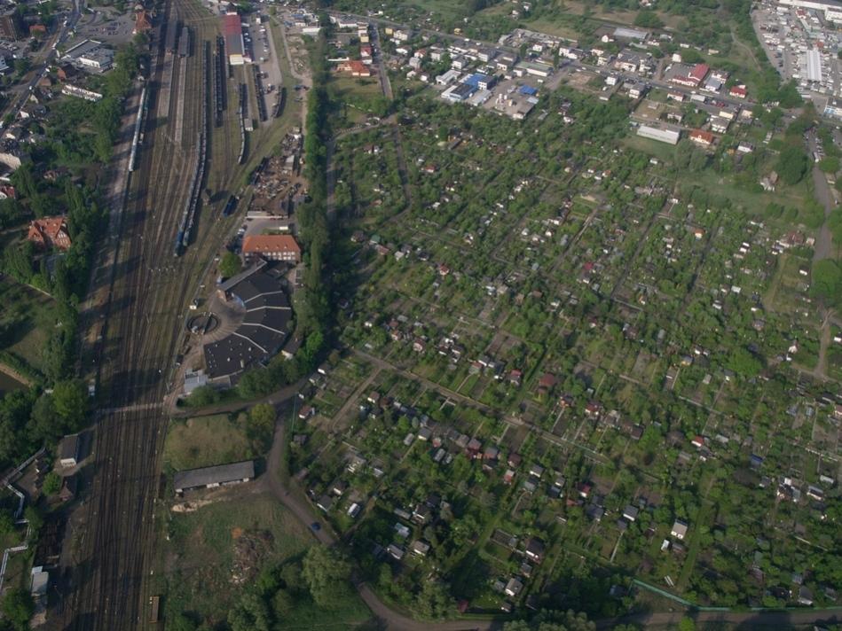 Obrotnica kolejowa przy dworcu zachodnim [fot. Marcin Ostajewski]