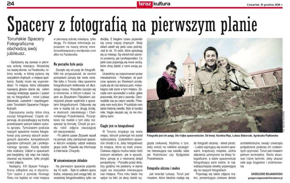 Teraz Toruń, TSF