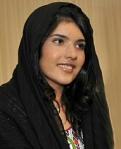 Bibi Aisha po rekonstrukcji twarzy