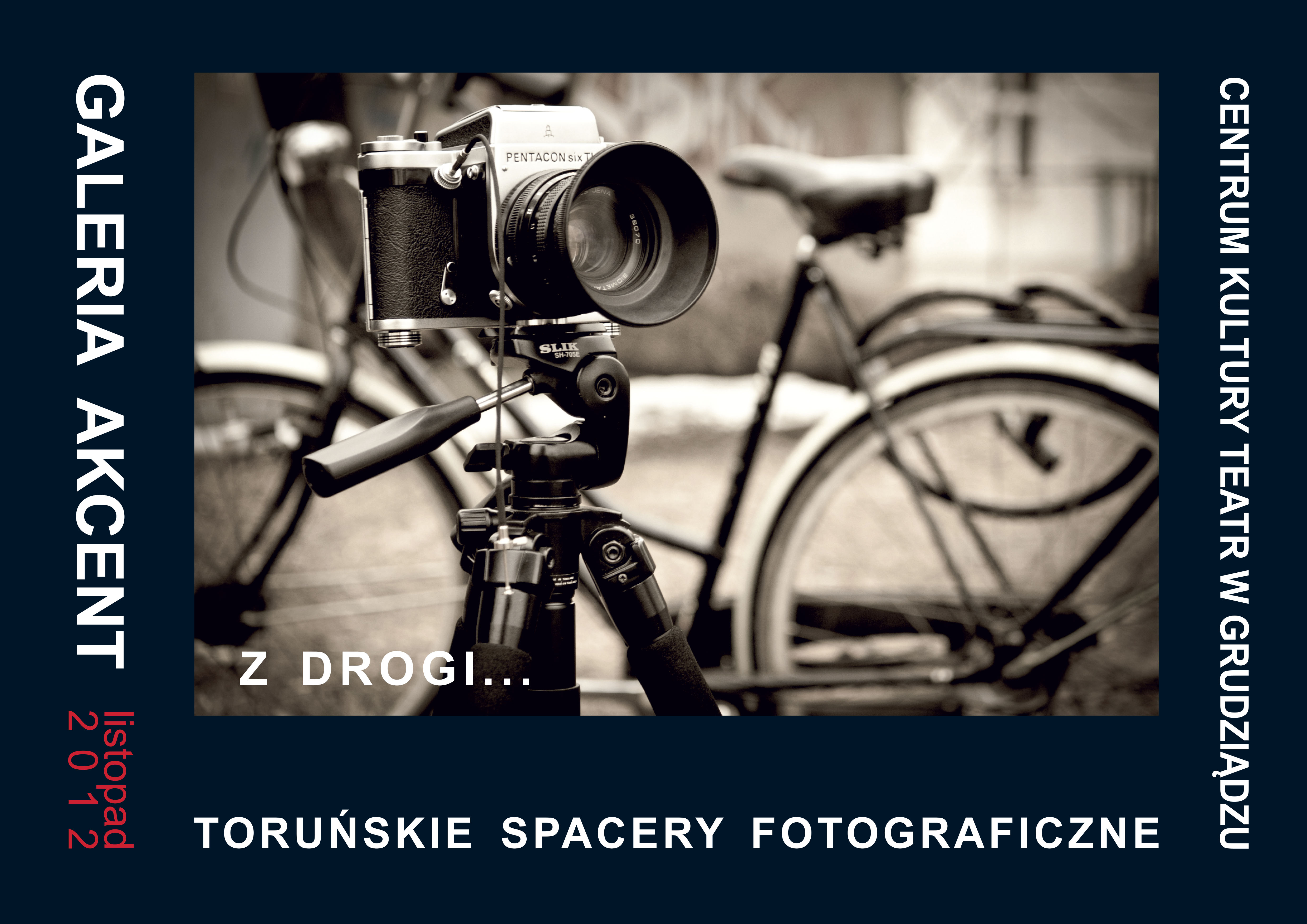 Plakat wystawy TSF w Grudziądzkim Centrum Kultury Teatr